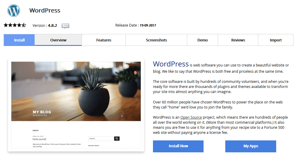 Kako namestiti WordPress?